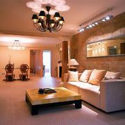 客厅简欧吊顶一居室装修