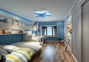 儿童房面积小怎么装修效果图