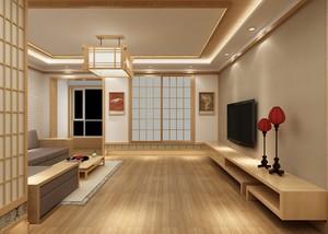 100平米日式裝修樣板房