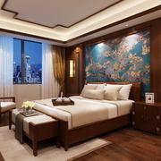 卧室中式家具110平米装修