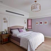 卧室现代背景墙小户型装修