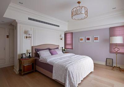簡美臥室背景墻裝修效果圖