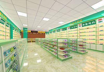 药店内部平面布局图