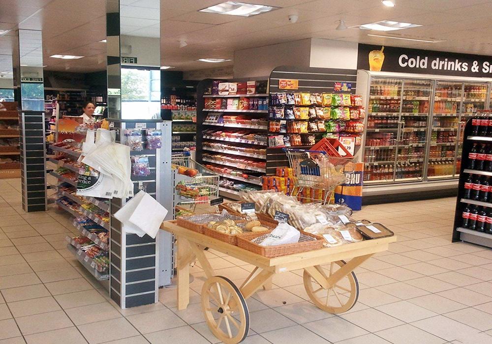 便利店超市設計效果圖 - 齊裝網裝修效果圖