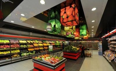 国外蔬菜超市装修效果图