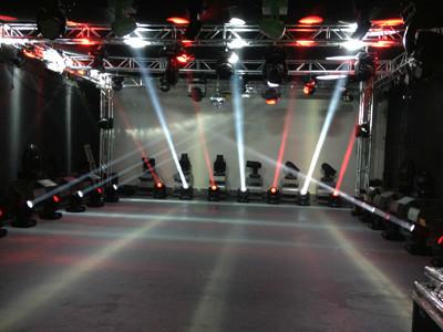 汽车展厅灯光设计效果图