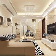 客厅中式灯具一居室装修