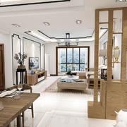 空间其他现代背景墙一居室装修