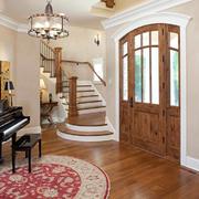 空间其他简欧楼梯一居室装修