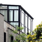 阳台现代局部别墅装修