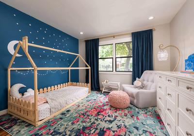兒童房臥室壁紙裝修效果圖欣賞