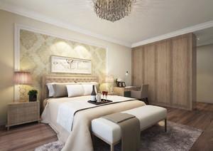 卧室欧式壁纸装修效果图