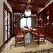餐厅中式局部小户型装修