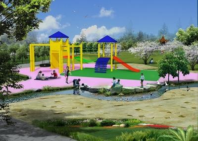 儿童游乐园走廊设计图