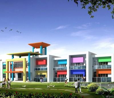 小型幼儿园的大门设计效果图大全