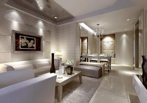 90平米兩室一廳房屋裝修效果圖圖片