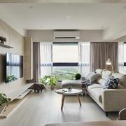 客厅现代局部100平米装修