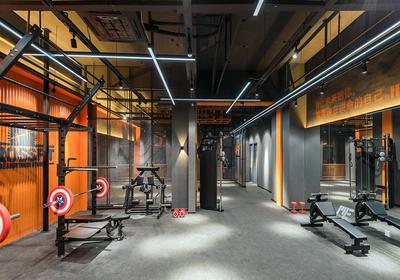 健身房建筑平面布置图