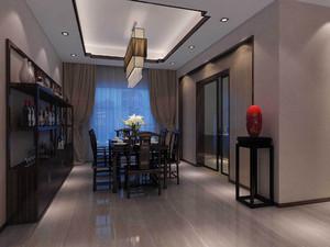 客餐厅中式风格一体装修效果图大全