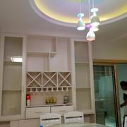 餐厅中式局部100平米装修