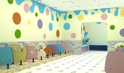 2019幼儿园的卫生间装修效果图大全欣赏