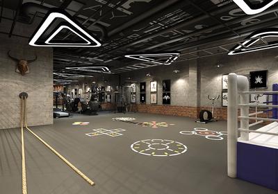 免费健身房平面布置图,200平健身房平面布置图欣赏