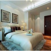 卧室欧式局部100平米装修
