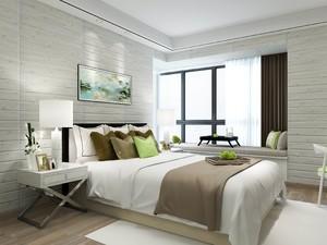 客厅与卧室的墙纸搭配效果图欣赏