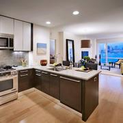 厨房现代局部两居室装修