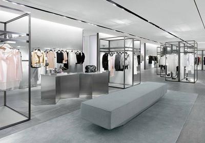 服装店简约欧式风格装修效果图大全