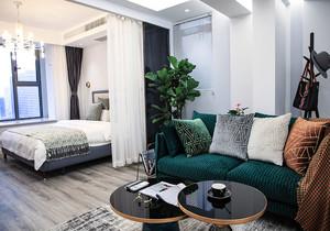 15个平方卧室加客厅怎么装修效果图