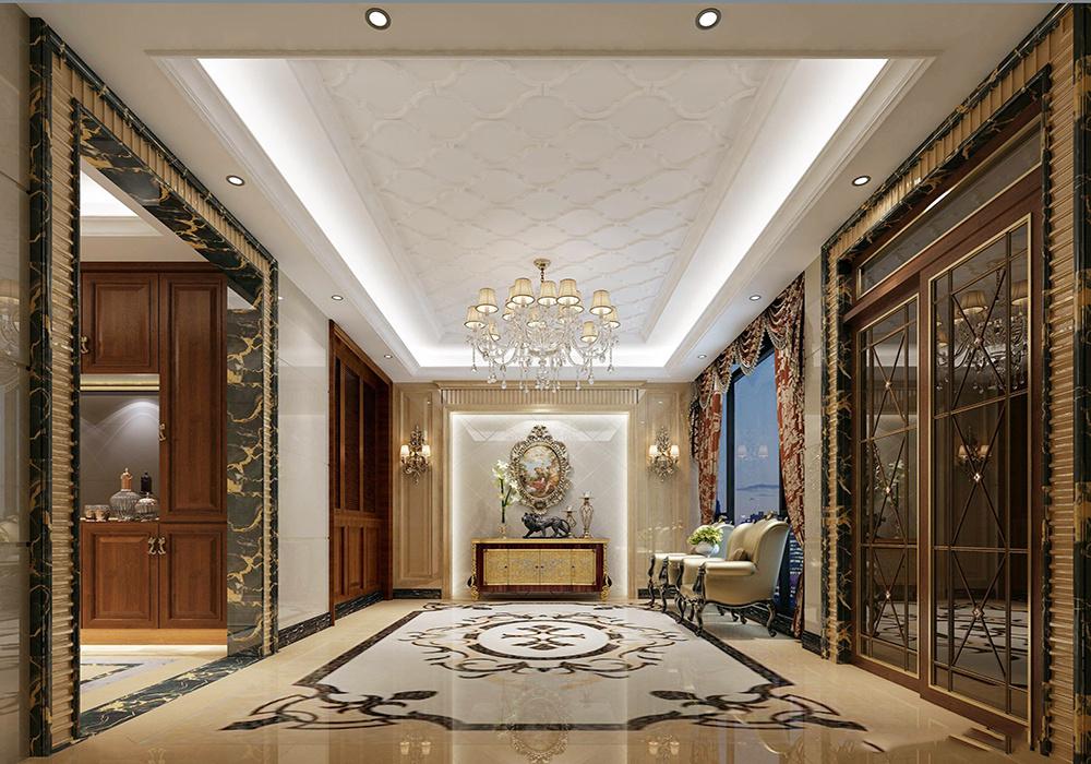 新古典欧式风格的卧室装修效果图大全