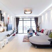 客厅现代灯具小户型装修