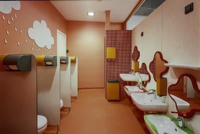幼儿园的卫生间装修效果图大全2019