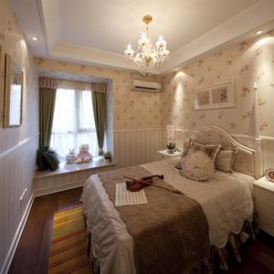 欧式装修卧室壁纸效果图大全