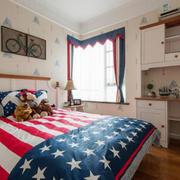 卧室美式局部100平米装修