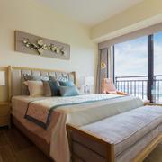 卧室现代门窗100平米装修