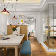 餐厅现代隔断小户型装修