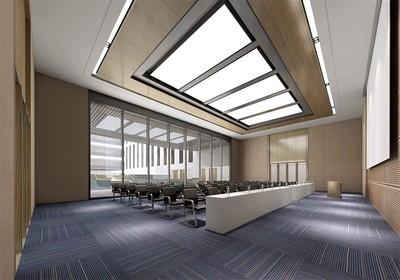多功能会议室装修风格效果图