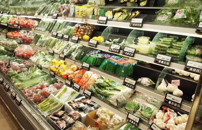 150平方水果蔬菜超市装修效果图