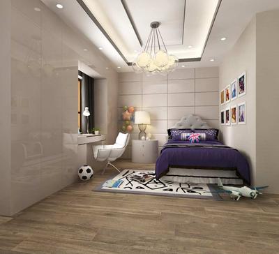 客厅改一半卧室一半餐厅效果图