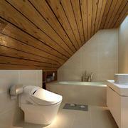 卫生间现代阁楼90平米装修