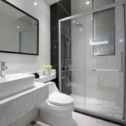 卫生间中式瓷砖小户型装修