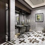 卫生间美式瓷砖小户型装修