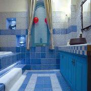 卫生间地中海瓷砖小户型装修