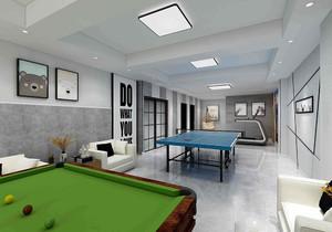 别墅90平米地下室装修效果图大全