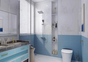 正方形小卫生间装修效果图