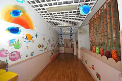 幼儿园大门过道设计效果图,幼儿园大门墙面设计效果图大全