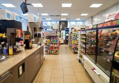 社区便利店设计效果图,60平米便利店设计效果图