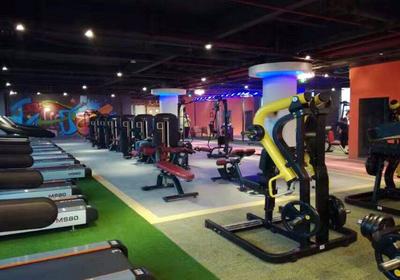 健身房简单平面布置图,健身房空间平面布置图